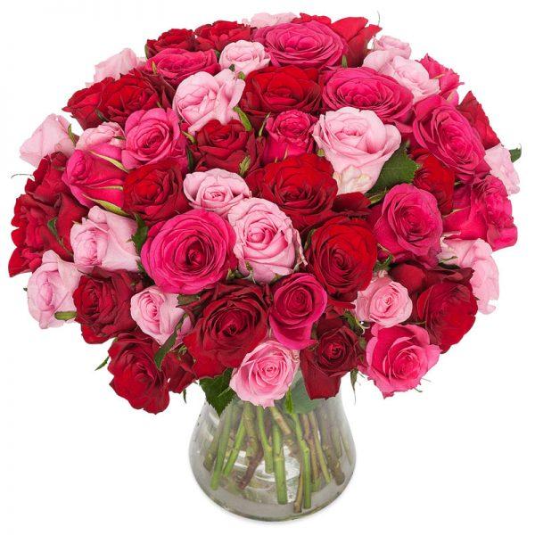 """""""For alltid"""" rosebukett fra nettblomst.no"""