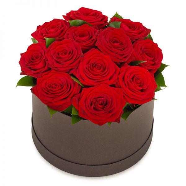 Kjærlighetseske med roser fra nettblomst.no