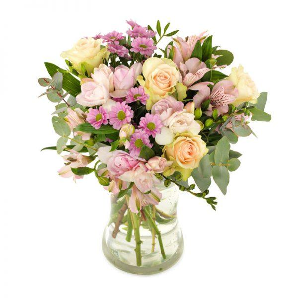 Klassisk blomsterbukett fra nettblomst.no