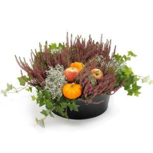 Klassisk høst blomsterdekorasjon fra nettblomst.no