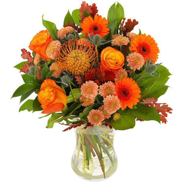 Oktoberbuketten blomsterbukett fra nettblomst.no